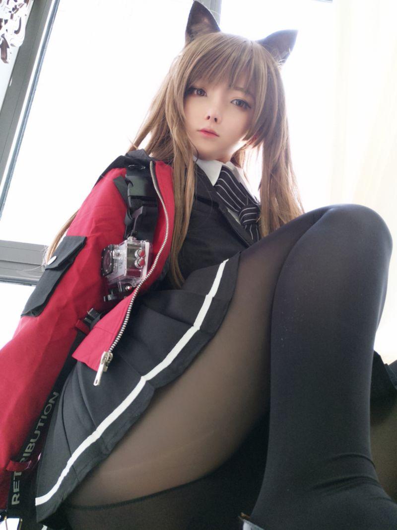 """一小央泽 - """"高练度""""天火cosplay原版图包 [50P+1V/346MB] 网红&Coser 第2张"""