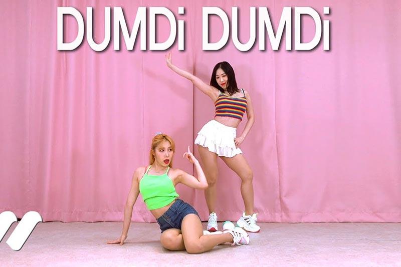 [4K在线播放](G)I-DLE - DUMDi DUMDi Dance Cover Waveya Waveya2020 第1张