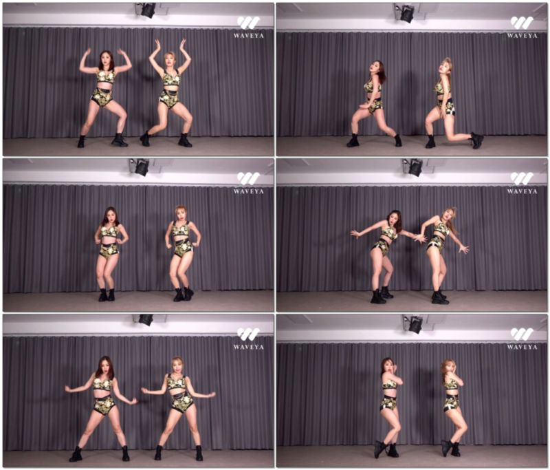 [4K视频]最新 aespa Black Mamba dance cover Waveya 视频下载 W202012090111 Waveya2020 第5张