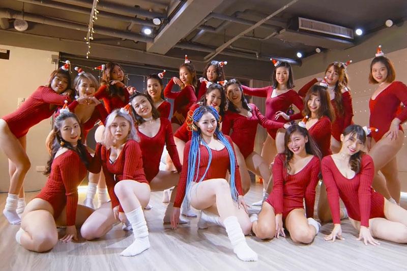 [IDANCE]2020圣诞特别节目All I Want For Christmas Is You ID20201224001 韩国女团 第1张