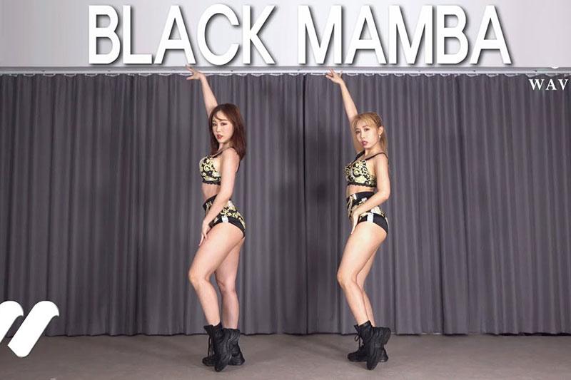[4K视频]最新 aespa Black Mamba dance cover Waveya 视频下载 W202012090111 Waveya2020 第1张
