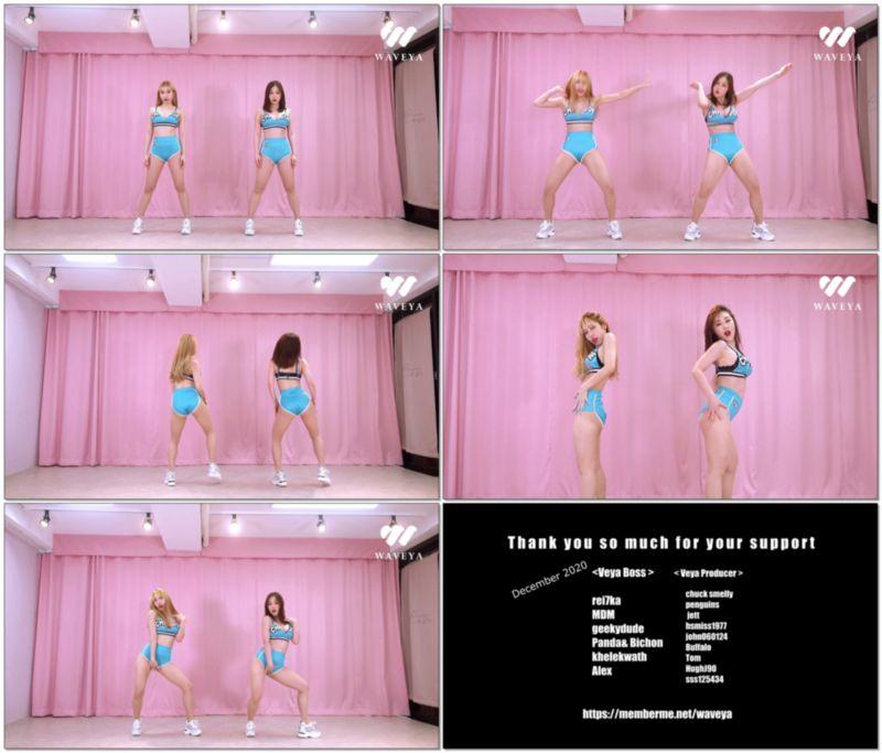 [4K视频]Waveya抖臀 Megan Thee Stallion - Body cover dance Twerk翻跳 W202101050111 Waveya2021 第4张