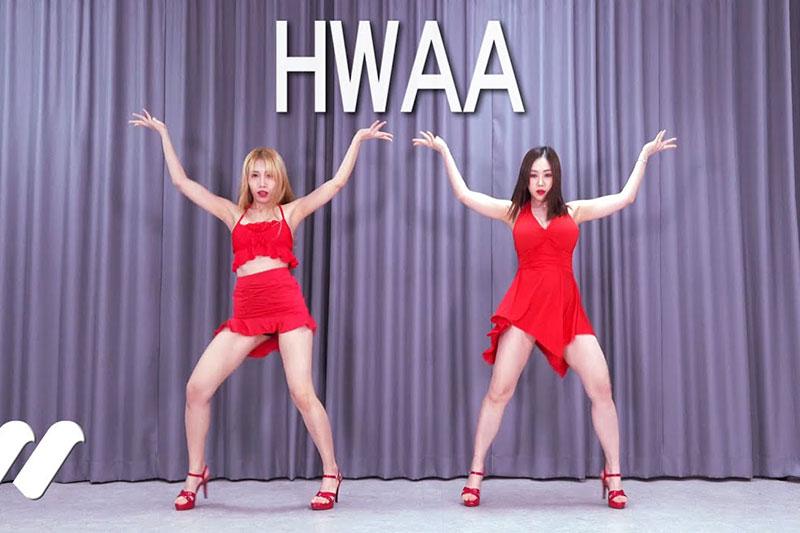 [4K视频](G)I-DLE - (火花)(HWAA) 翻跳Cover Dance Waveya W202101300111 Waveya2021 第1张