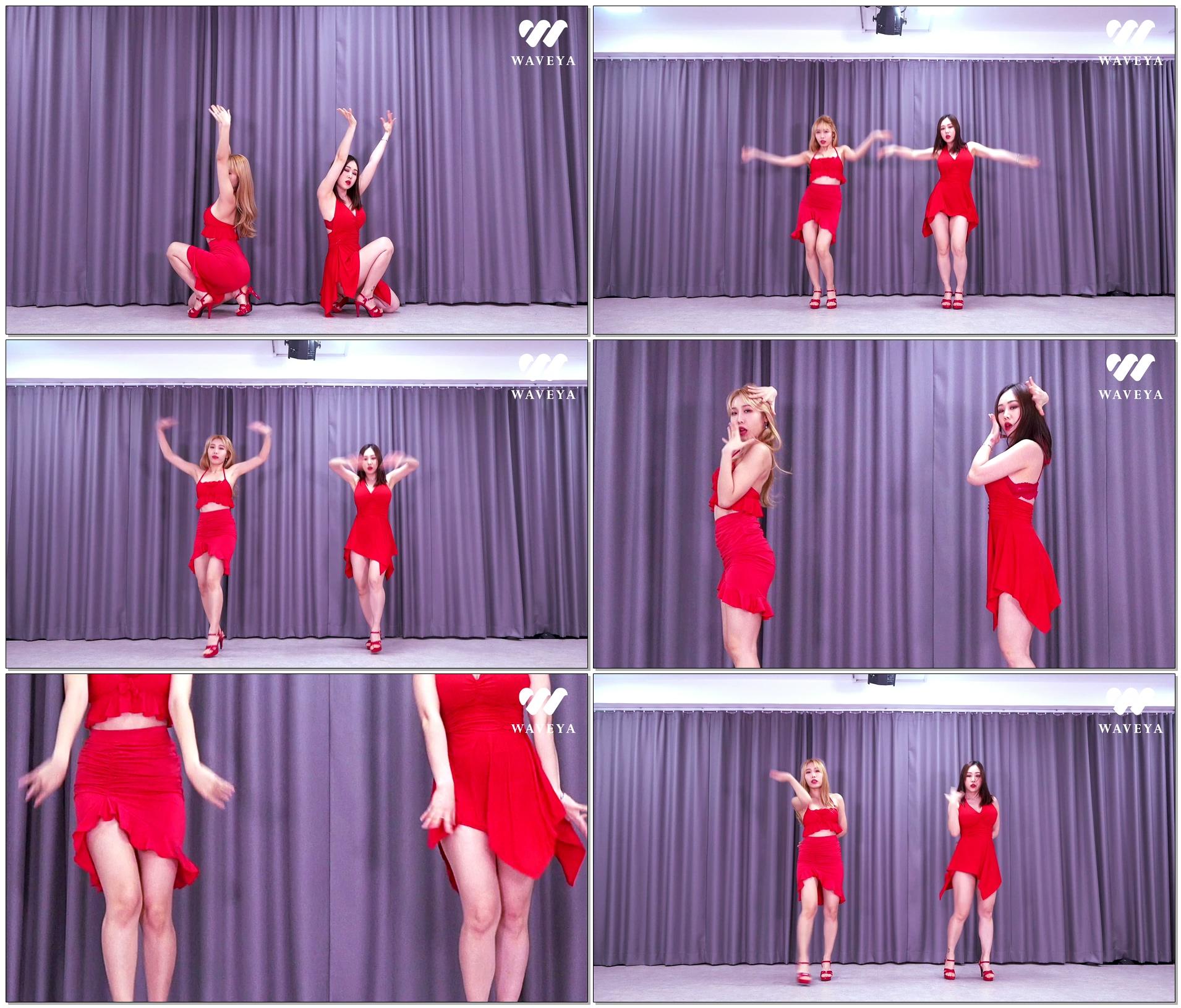 [4K视频](G)I-DLE - (火花)(HWAA) 翻跳Cover Dance Waveya W202101300111 Waveya2021 第2张