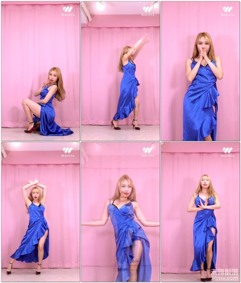 【最新】(G)I-DLE - 火花(HWAA) dance cover Waveya W202102210111 Waveya2021 第4张