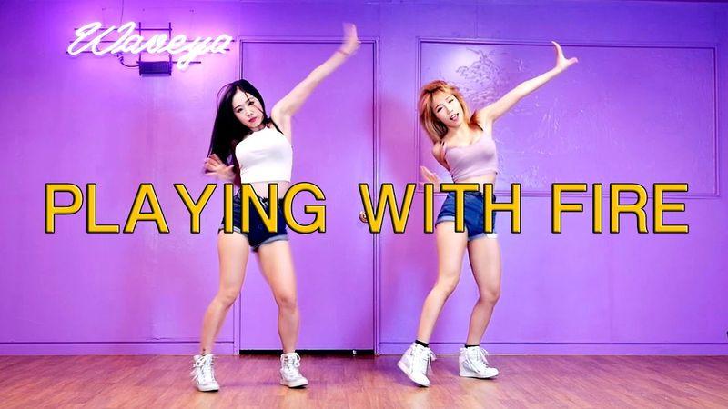 [Waveya]BLACKPINK PLAYING WITH FIRE Full ver 高清视频在线下载 Waveya2016 第1张