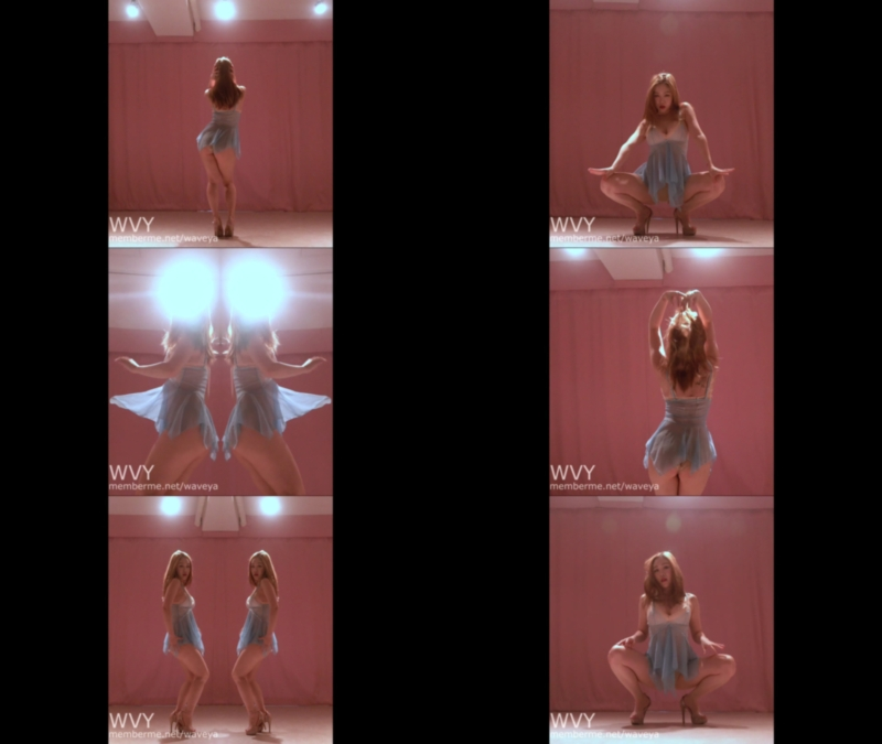 Ari sexy dance 💙 Naked 🍰하늘하늘 시스루 란제리 입었어요 :) Waveya会员 第4张