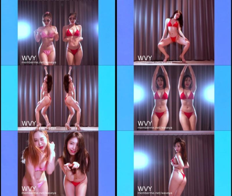 MiU 💋 Bikini Twerk Sexy Dance 미유 비키니 트월킹 섹시댄스 Waveya会员 第3张
